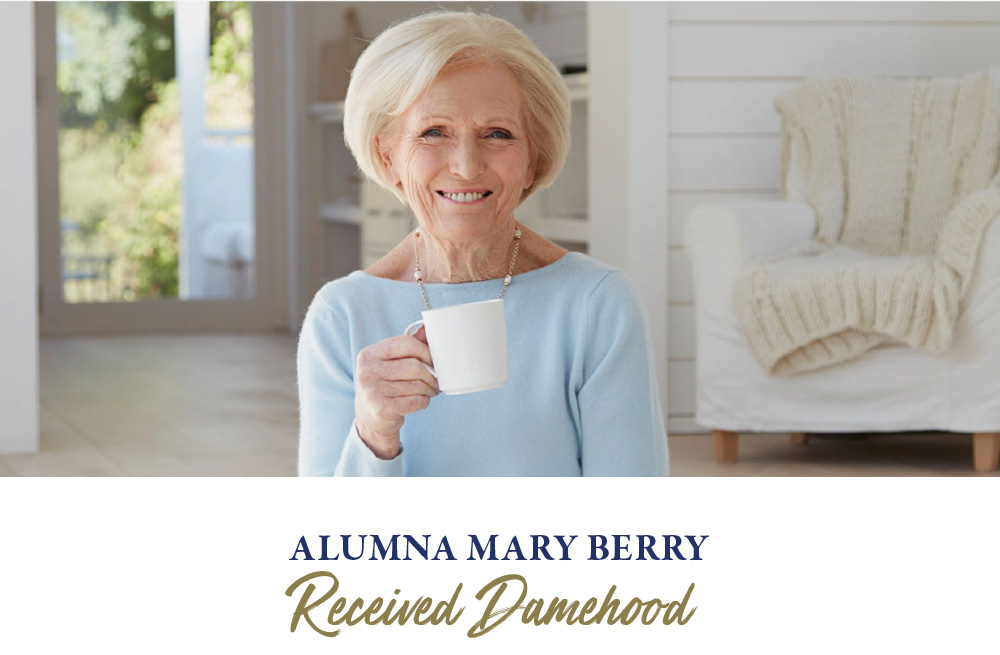 Alumna Mary Berry Received Damehood